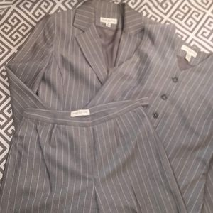 3 Piece Pinstripe Suit